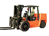 Inner container forklift